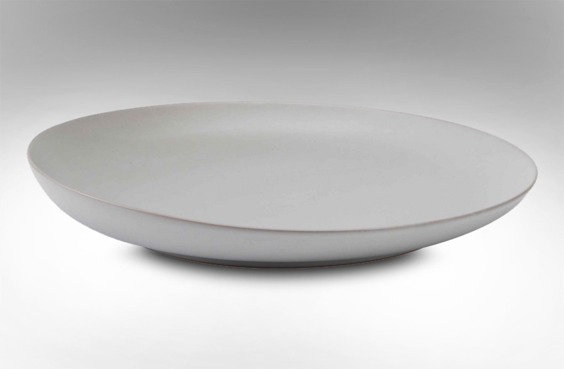 Rice Furniture Tide Signature Dining Plate Coastal White
