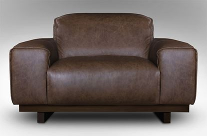 Picture of Roland Single Leather Armchair Saloon
