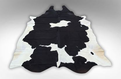 Picture of Portland Cowhide Rug Black and White