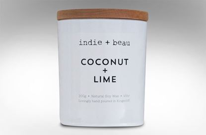 Picture of Coconut and Lime White Jar