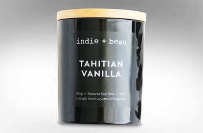 Picture of Tahitian Vanilla Black Jar