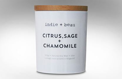 Picture of Citrus Sage & Chamomile White Jar