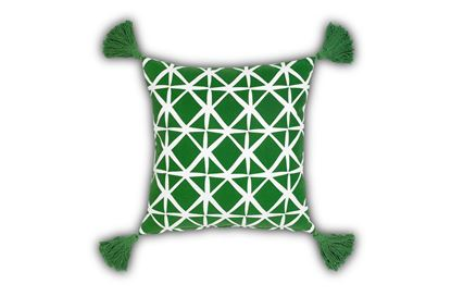 Picture of Isak Green Cushion 50cm