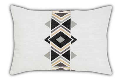 Picture of Maya Black Rectangle Cushion