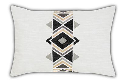 Picture of Maya Black Rectangle Cushion