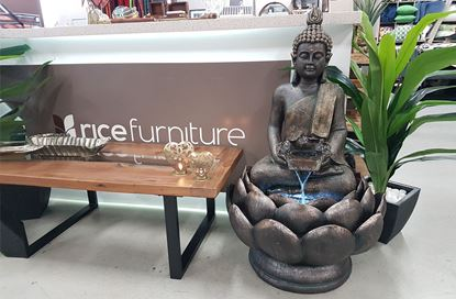 Picture of Lotus Fountain Buddha