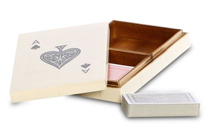 Picture of Bone Inlay Card Box