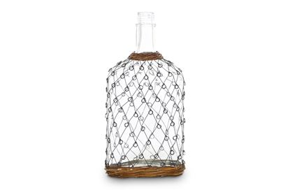 Picture of LGE Folk Wicker And Wire Bottle