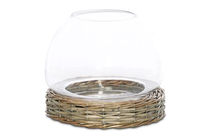 Picture of LGE Gates Willow And Glass Hurricane