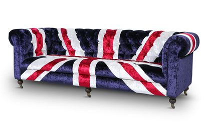 Picture of GB Velvet Sofa