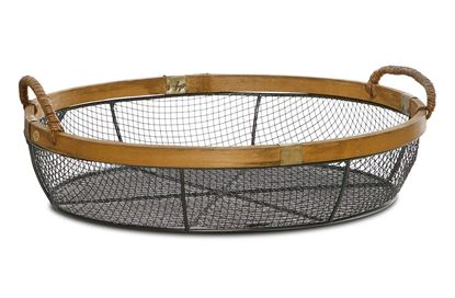Picture of SML Oval Kane Wire Basket