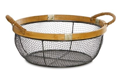 Picture of SML Round Kane Wire Basket