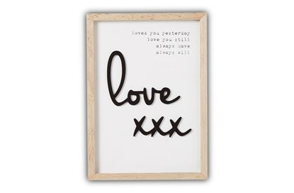 Picture of Love Plaque