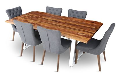 Picture of Rio 2000 Beach Dining Table With 6 Paris Chairs