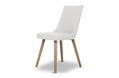 Picture of Lincoln Leather Dining Chair Beach