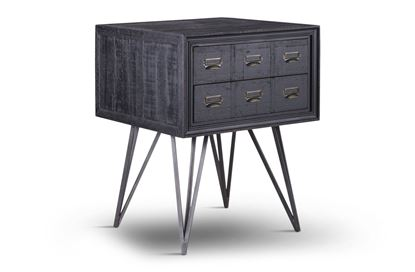 Picture of Yale Side Table Black