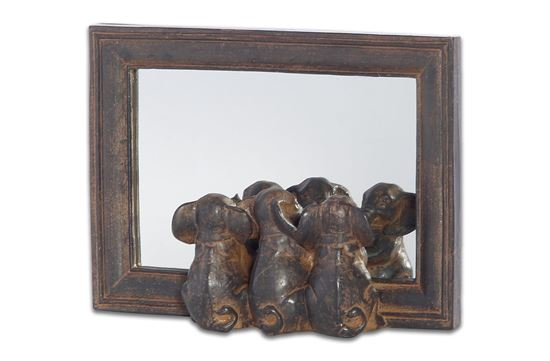 Picture of Elephant Mirror