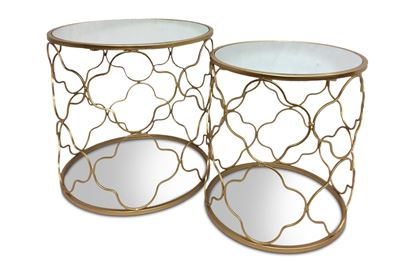 Picture of Luxe Set 2 Side Tables