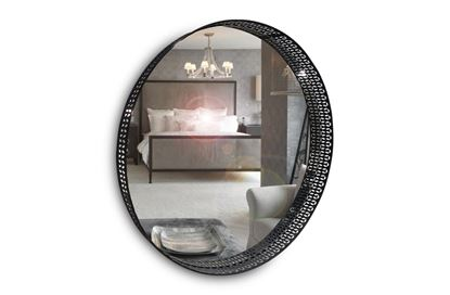 Picture of Jet Round Mirror