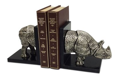 Picture of Rhino Bookends