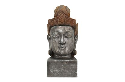 Picture of Vintage Buddha Head