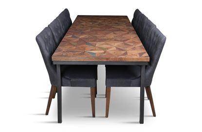 Picture of Phoenix 2500 Dining Table With 8 Paris Dining Chair