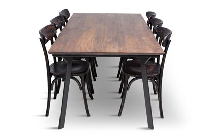 Picture of California 2100 Dining Table With 6 Benson Dining Chair