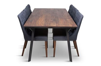 Picture of California 2100 Dining Table With 6 Paris Dining Chair