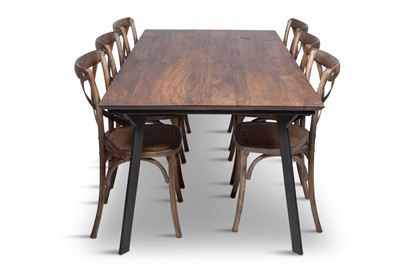 Picture of California 2100 Dining Table With 6 Chelsea Dining Chair