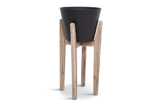 Picture of LGE Lawson Black Pot with Stand