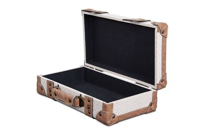 Picture of SML Vintage Luggage Snowflake