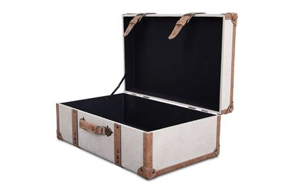 Picture of XL Vintage Luggage Snowflake