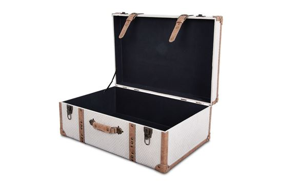 Picture of XXL Vintage Luggage Snowflake