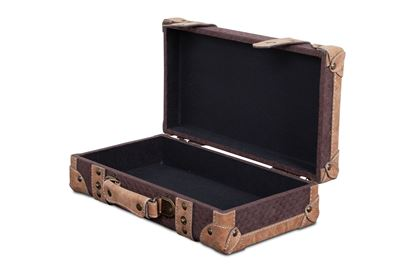 Picture of SML Vintage Luggage Chocolate