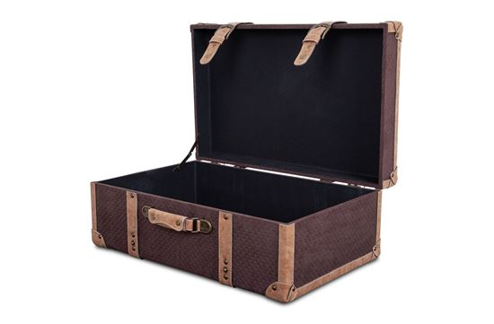 Picture of XL Vintage Luggage Chocolate