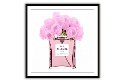 Picture of Chanel Pink Bouquet 100 x 100