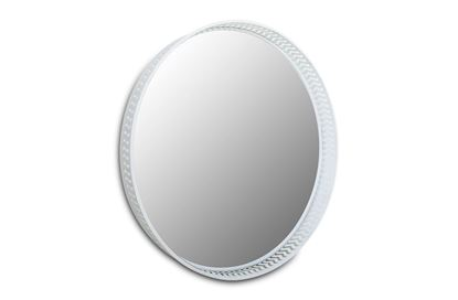 Picture of Luxor Round Mirror White