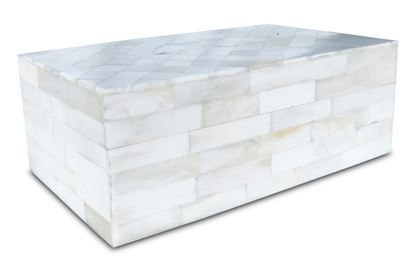 Picture of Diamond Bone Inlay Box large