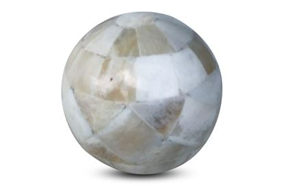 Picture of Bone Inlay Sphere Small