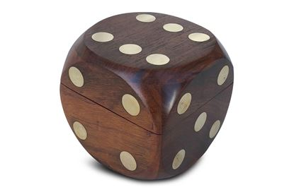 Picture of Dice Box with Dice