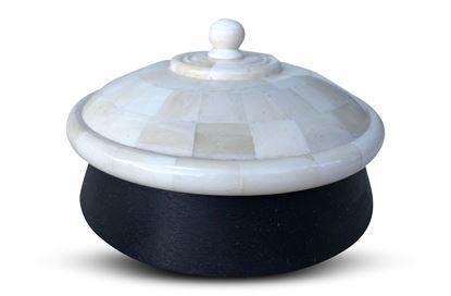 Picture of Bone Lid Trinket Bowl Large