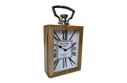 Picture of Tower Bridge Timber Clock