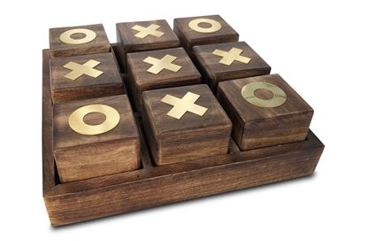 Picture of Large Timber Noughts and Crosses