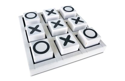 Picture of White Noughts and Crosses