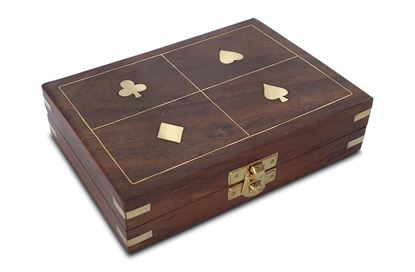 Picture of Four Suites Double Card Box