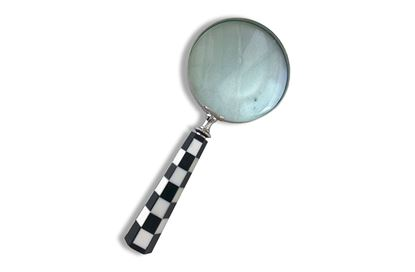 Picture of Checkered Magnifying Glass