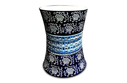 Picture of Ceramic Flower Stool