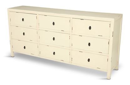 Picture of Shogun 9 Drawer White
