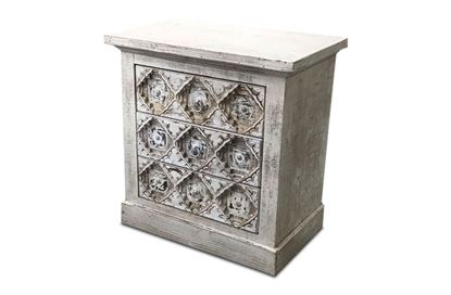 Picture of Mecca 3 drawer Bedside