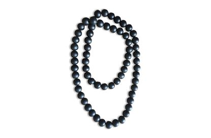 Picture of Decorative Bead String Black